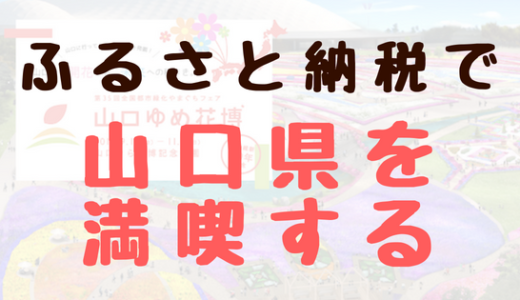 来たる秋の行楽シーズンにオススメ! ふるさと納税サイト「さとめぐり」を駆使して山口県を満喫しよう!
