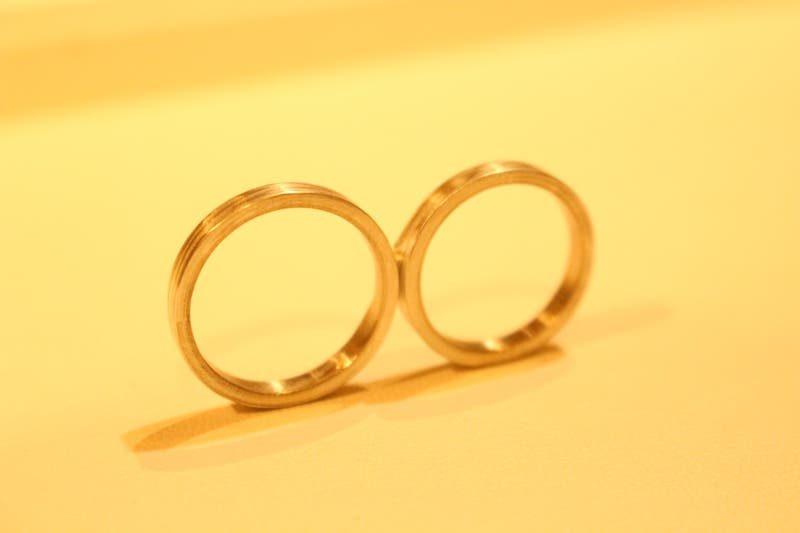 杢目金屋 結婚指輪