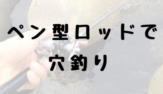 【レビュー】ダナイブロスのペン型ロッドで穴釣り!旅行やキャンプにもオススメ!