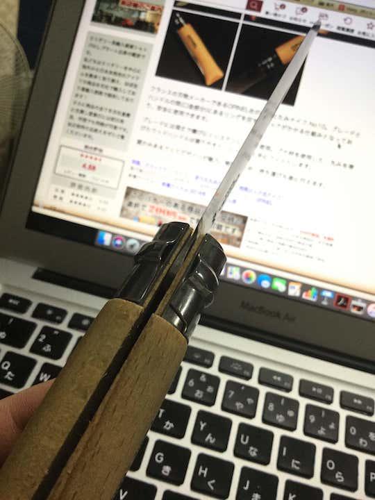 釣り ナイフ