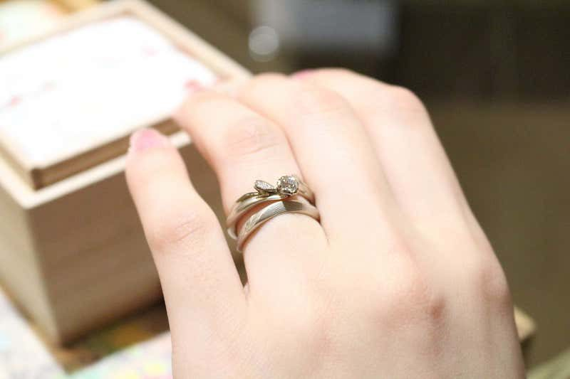 杢目金屋 指輪
